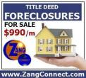 Zang Connect, Save Money on Foreclosed Properties!, toronto