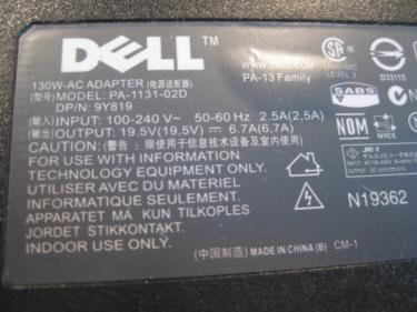 Brand New Dell AC Adaptor for Dell XPS, Inspiron and Precision Series , toronto